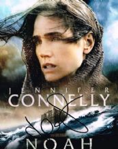 Jennifer Connelly Autograph Signed Photo - Noah